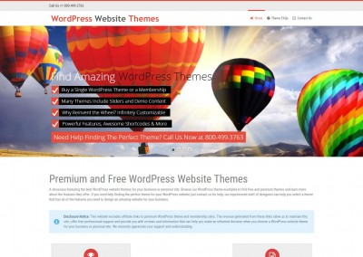 WordPress Website Themes